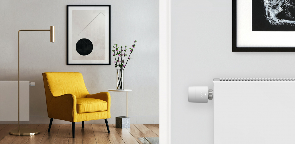 Smart Radiator Thermostat at home
